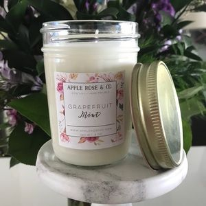 Hand Poured Soy Candle Small Batches High Quality!